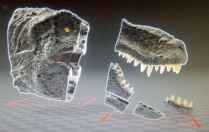 Design of the Week: Giant Rex Head
