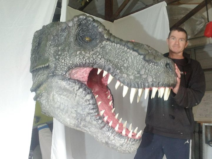 Design of the Week: Giant Rex Head
