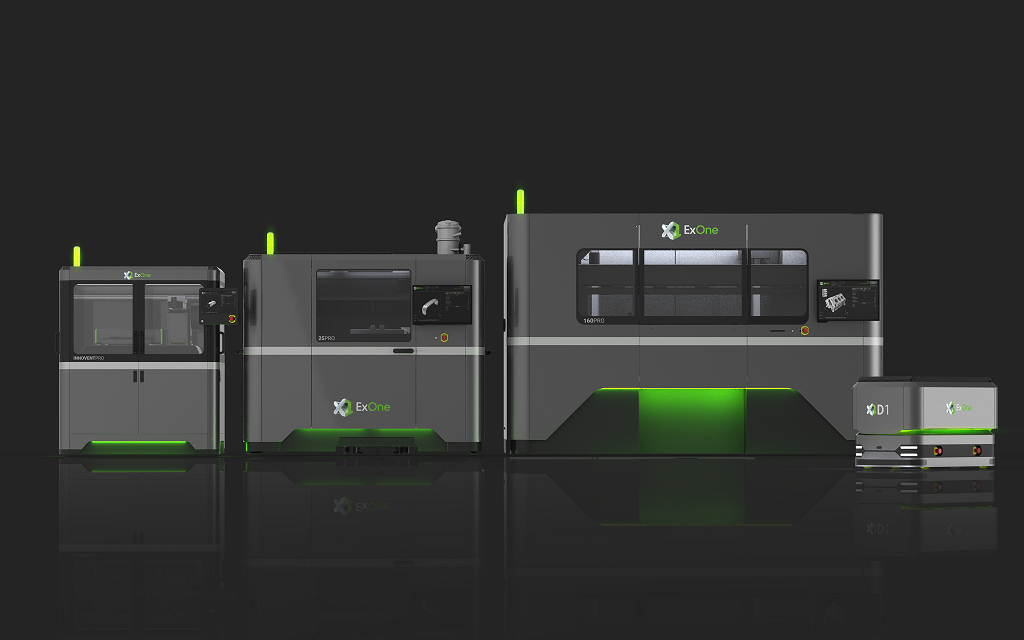 Latest ExOne Introductions Advance And Automate Binder Jetting