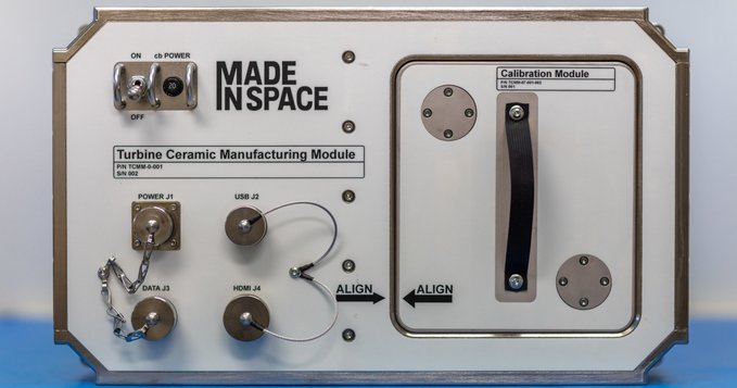 Made In Space To Launch Ceramic 3D Printing To The ISS