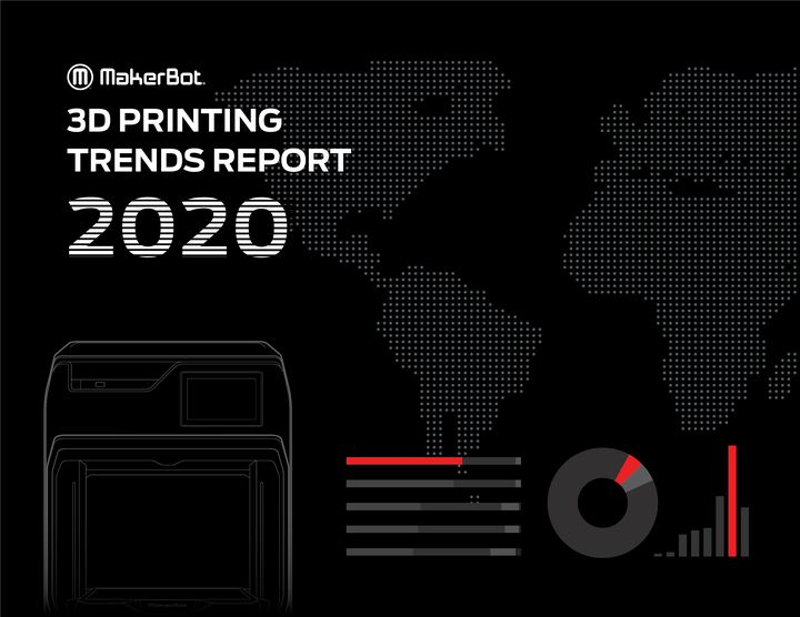 MakerBot Releases 2020 3D Printing Trends Report