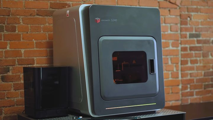 EMBARGO 9/23 at 9:00 AM ET BMF Unveils The microArch S240 Micro-Precision 3D Printer