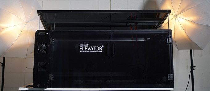 "Cultivate3D Launches Massive ""Elevator"" 3D Printer"