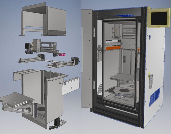 Another High-Temperature DIY 3D Printer Design