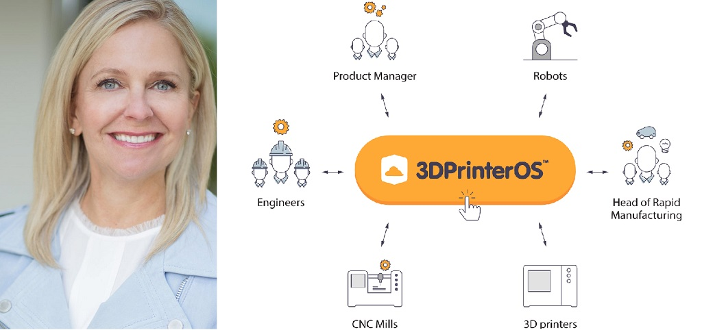 Meet 3DPrinterOS' New CEO: Michelle Bockman Shares A Vision For Scaling Enterprise Growth