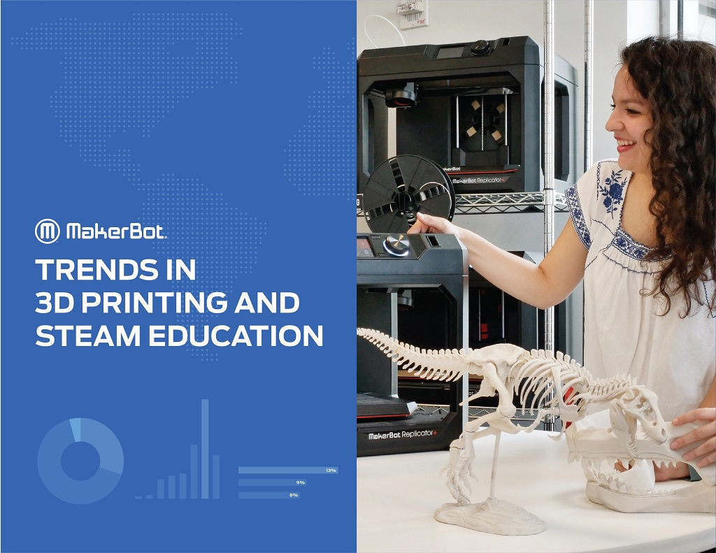 MakerBot's New Report Details Trends in 3D Printing And STEAM Education