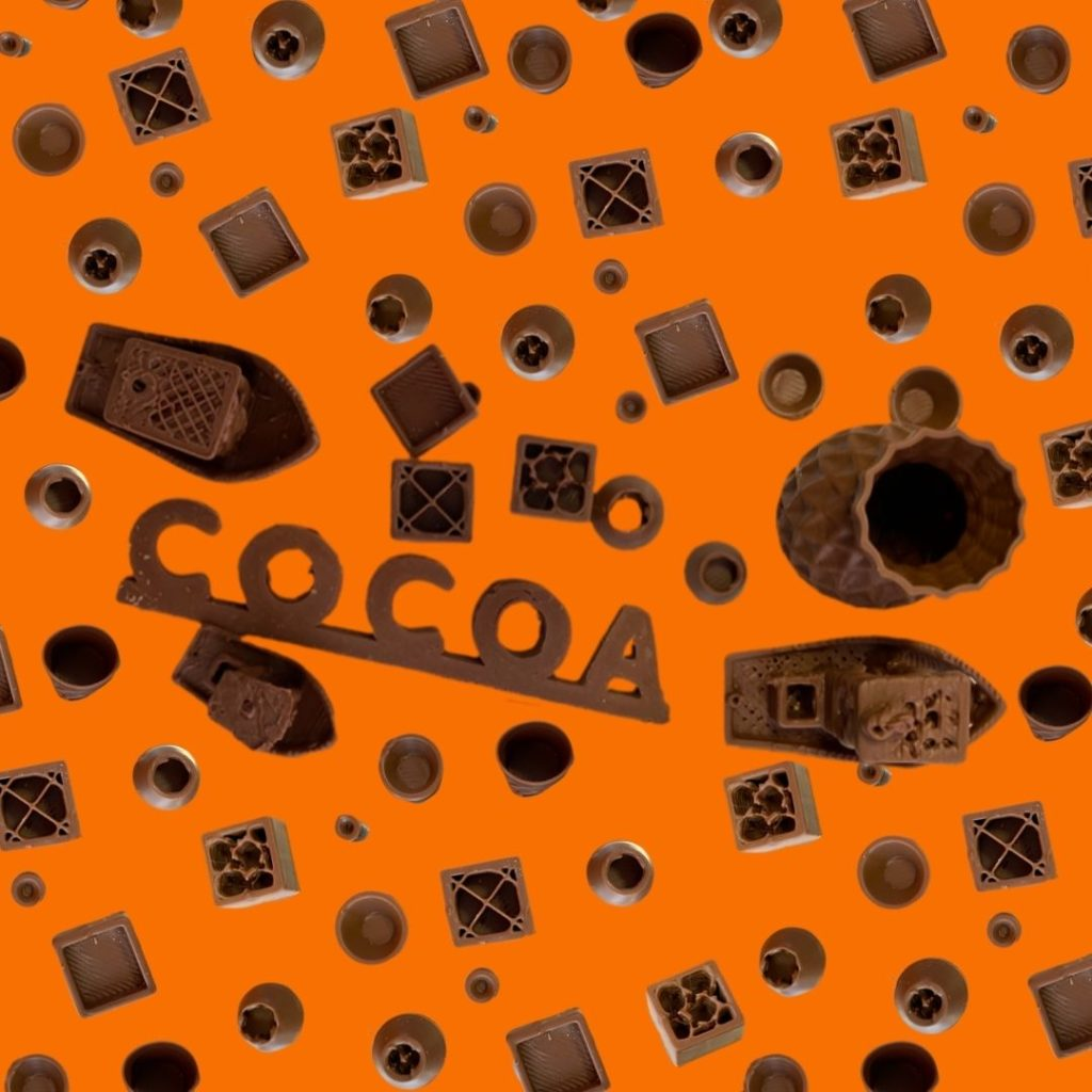 3D Printing Chocolate With Cocoa Press