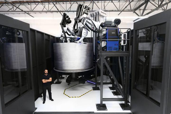 Relativity Space Bags Major 3D Printed Rocket Client