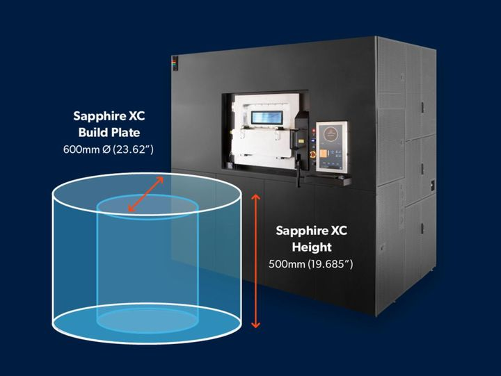 VELO3D Announces The Extra Capacity Sapphire XC Metal 3D Printer