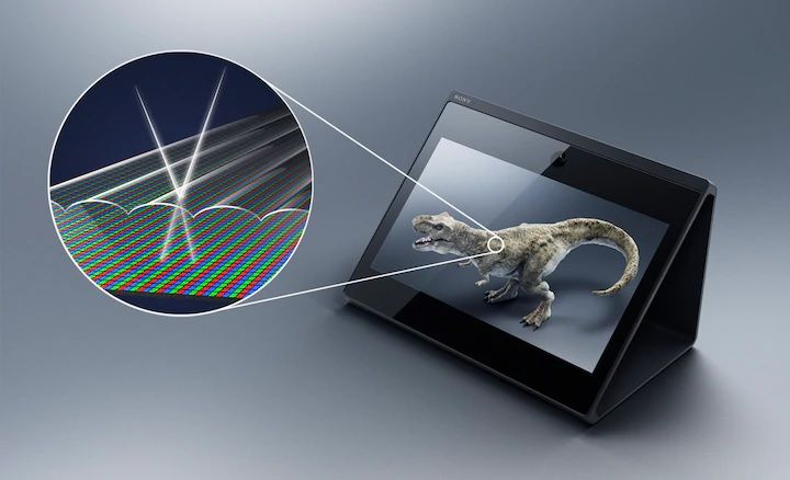 Sony's Spatial Reality Is a New Type of 3D Display Technology