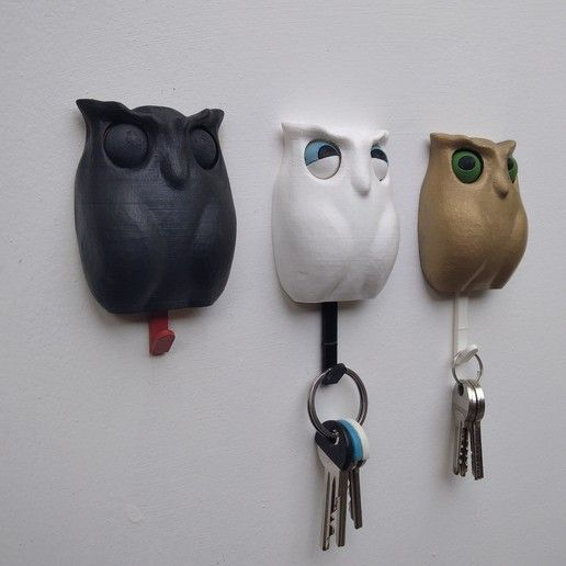 Design of the Week: Winking Owl Key Holder