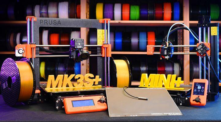 Prusa Slides Out Slightly Improved Desktop 3D Printers