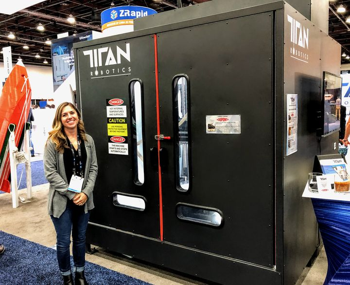 Titan Robotics Partners With Jabil For Advanced Materials