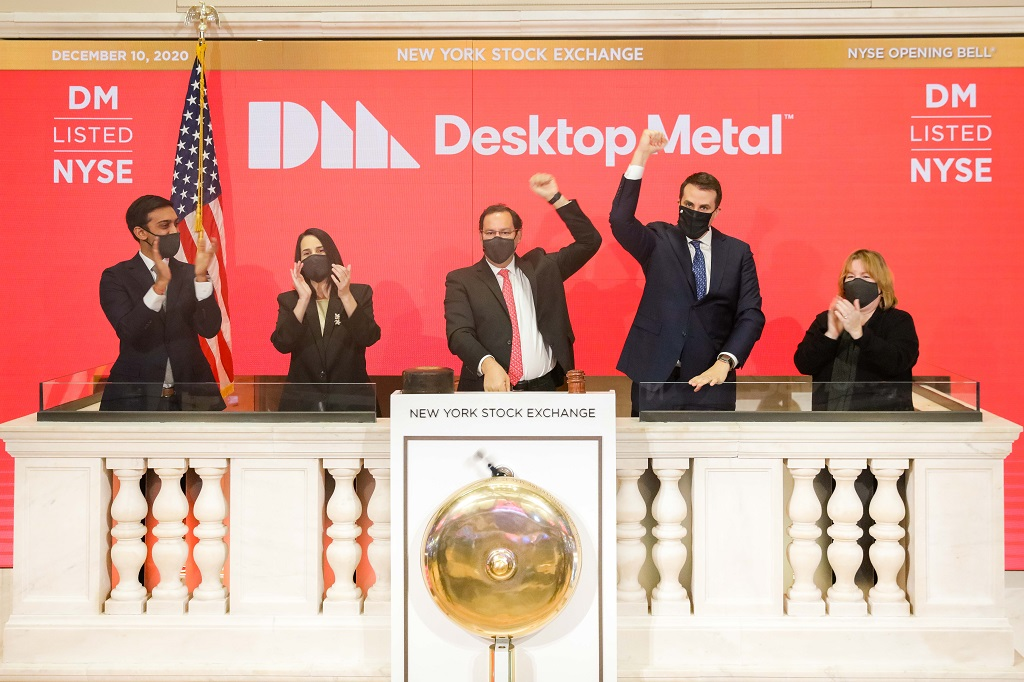 DM On The NYSE: Desktop Metal Is Officially A Public Company