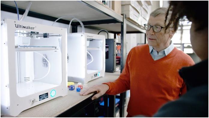 A Thousand Crazy Ideas: Bill Gates And 3D Printing