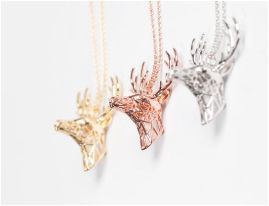 Animal Lovers Fawn Over 3D Printed Jewelry