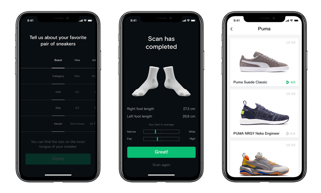 Neatsy AI Upgrades Shoe Fit With 3D Foot Scans