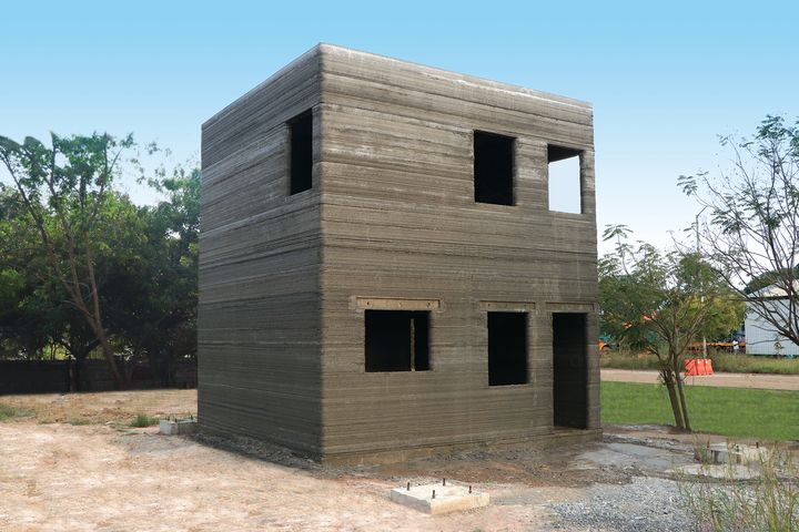 COBOD Using Real Concrete For Construction 3D Printing