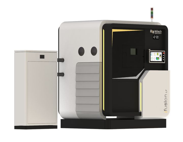 Intech Launches Large-Format Metal 3D Printer