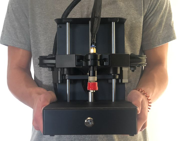 The Plybot 3D Printer's Most Unusual Motion System