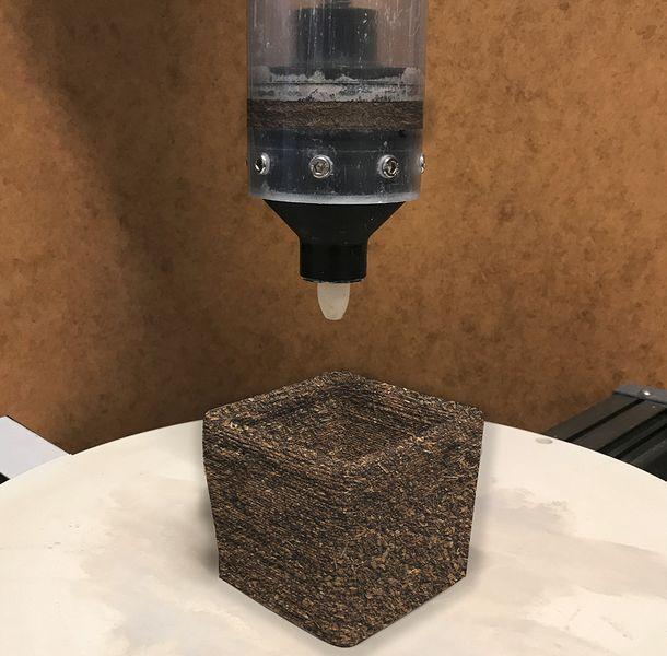 New 3D Print Material: Fungus