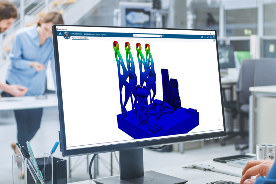 AWAITING PAYMENT Dassault Systèmes And EOS Collaborate To Improve Additive Manufacturing Digital Workflow