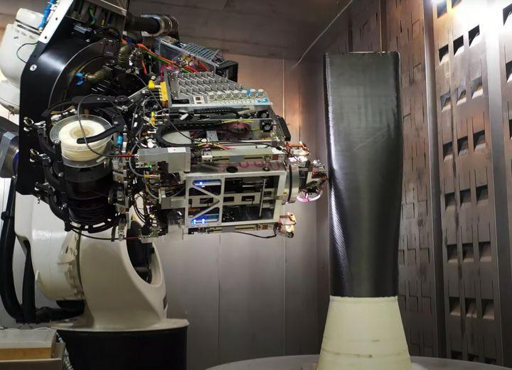Electroimpact's SCRAM Continuous Carbon Fiber System