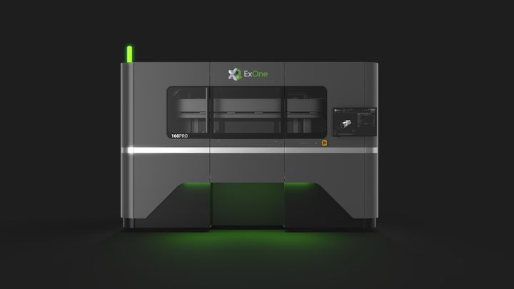 ExOne's X1 160Pro Metal 3D Printer Can Now Use Access Reactive Metals