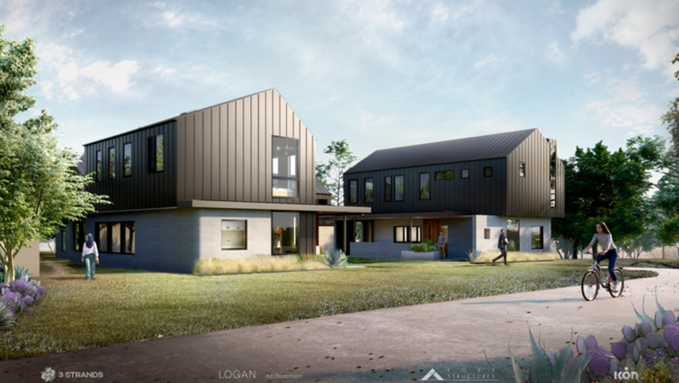 Welcome to the Neighborhood: A 3D Printed Housing Development Prepares for Habitation