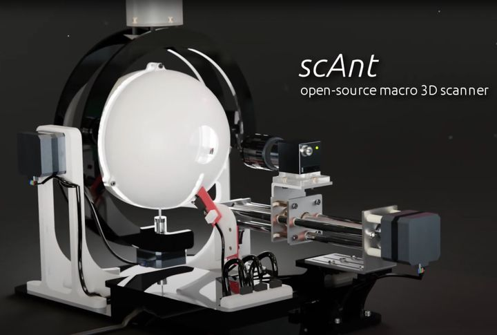scAnt: An Open Source 3D Scanner For Ants