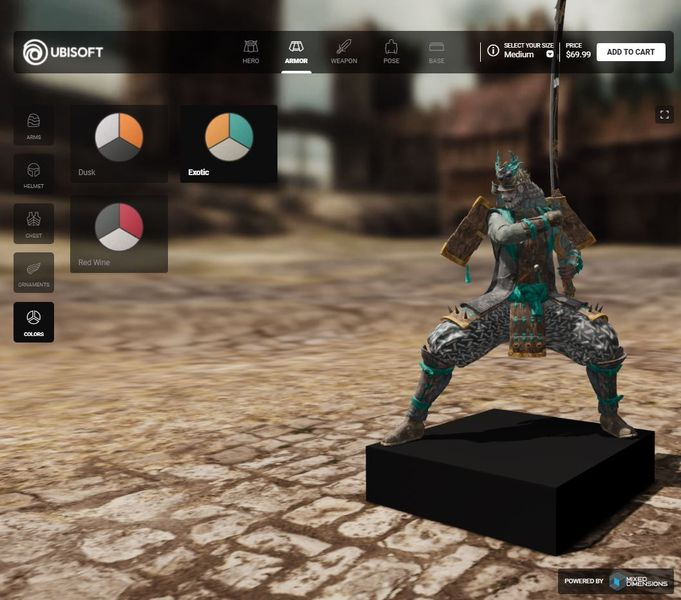 Mixed Dimensions announced a deal with game-maker Ubisoft to 3D print custom figurines.