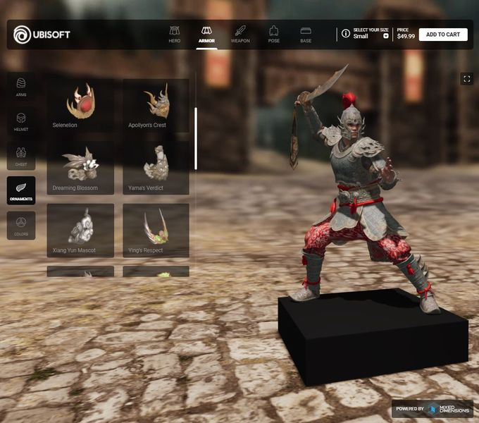 Mixed Dimensions Partners With Ubisoft For 3D Printed Characters