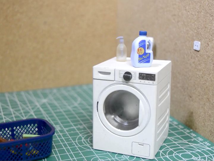 Design of the Week: Tiny 3D Printed Washing Machine That Works!