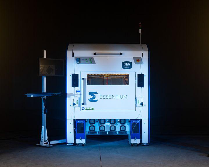 EMBARGO 7:00 AM ET on April 27 Essentium Announces IDEX Industrial 3D Printer