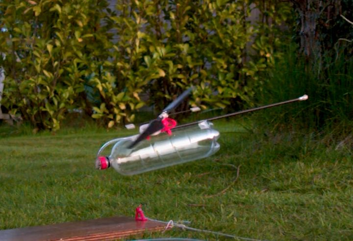 Design of the Week: Air Powered Helicopter