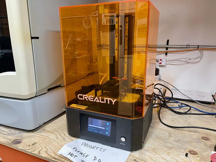 Hands on with the Creality LD-006, Part Two: Setup and Operation