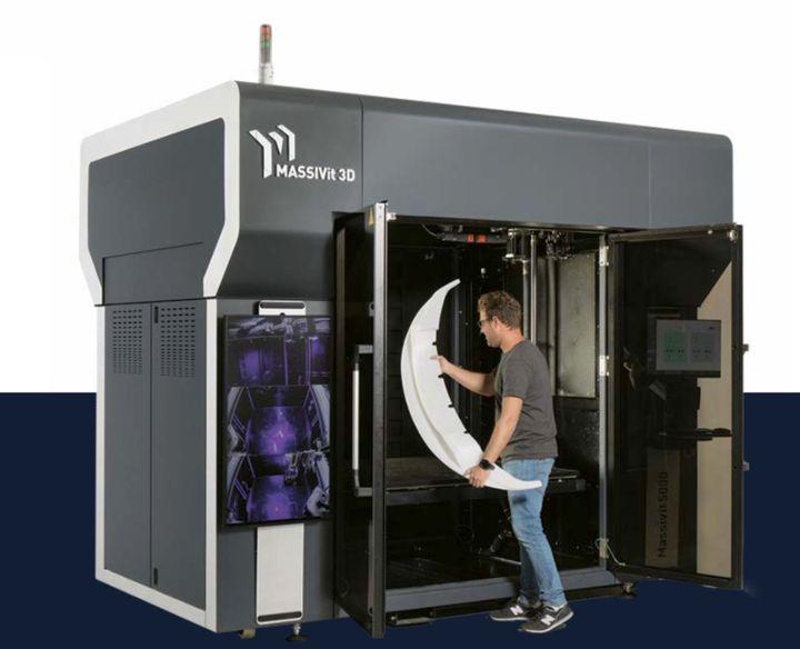 The Massive Massivit 5000 3D Printer