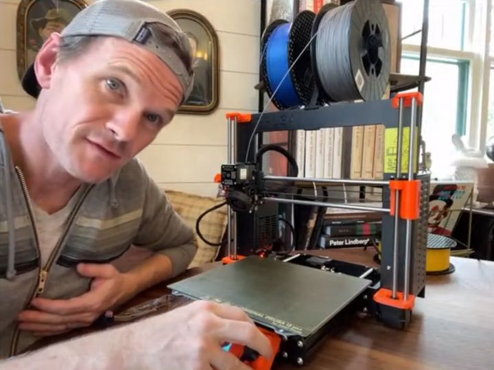 Neil Patrick Harris Gets 3D Printing