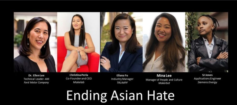 Women in 3D Printing: Stop Asian Hate