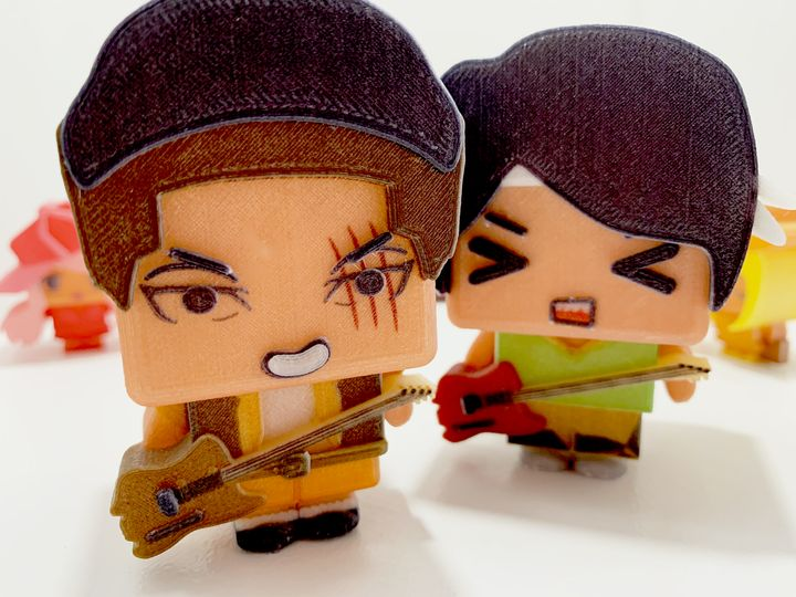 RIZE Partners With Little You On Customized Anime 3D Prints