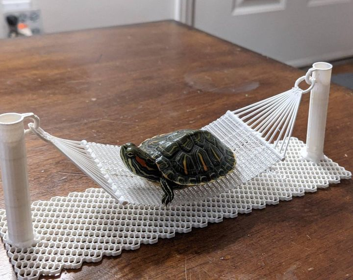 Design of the Week: Mini 3D Printed Hammock