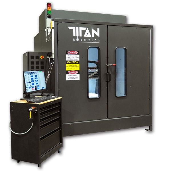 Titan Robotics' New Atlas-HS Hybrid 3D Printer