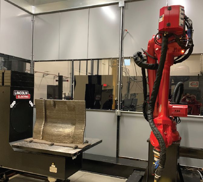 Wire Arc Additive Manufacturing and Vertical Market Impacts