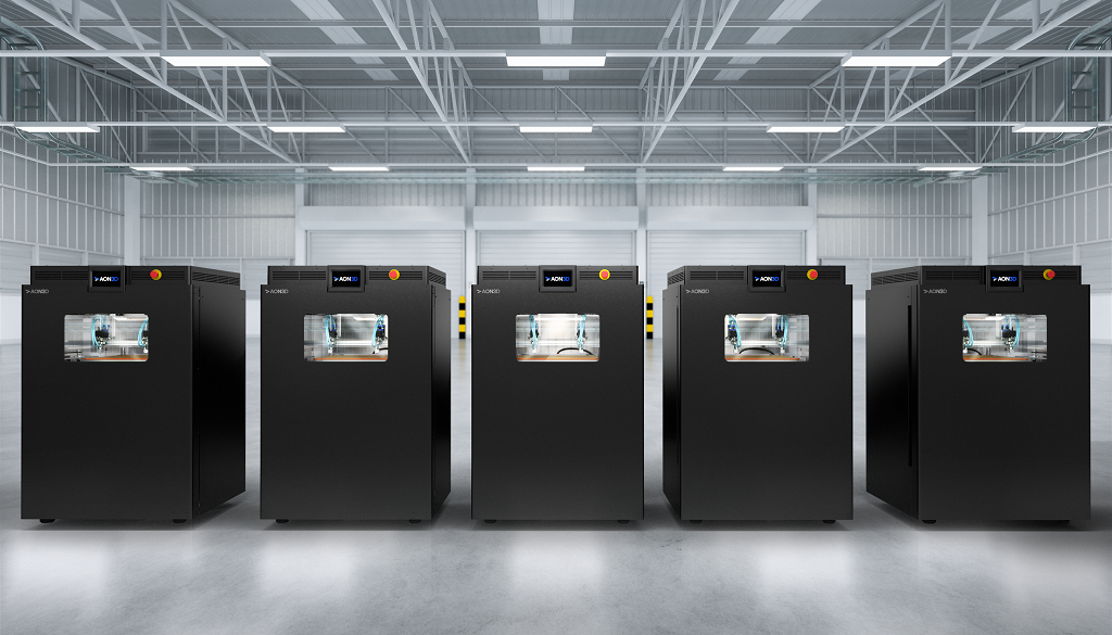 AON M2+ 3D Printer Takes High-End 3D Printing To Mid-Market