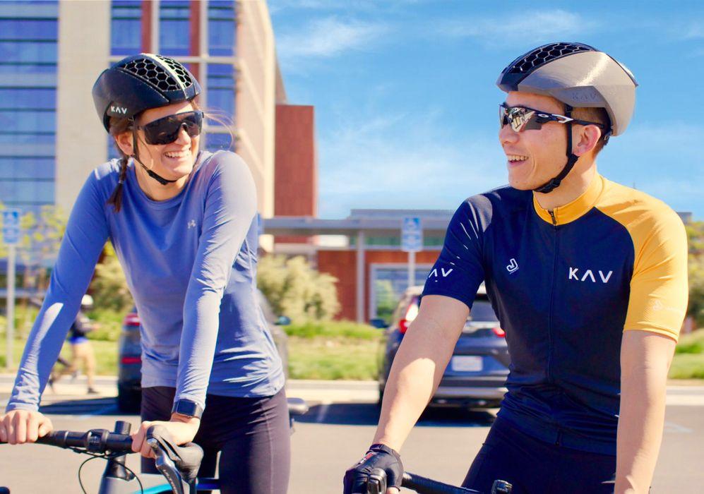 The KAV 3D Printed Bike Helmet