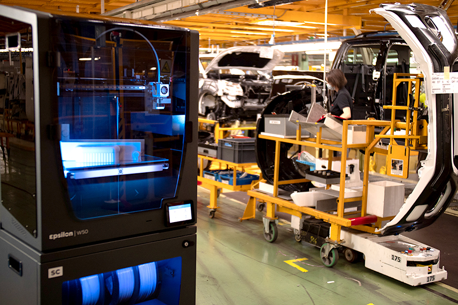 Automotive 3D Printing For The Assembly Line