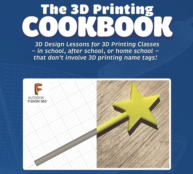 Book of the Week: The 3D Printing Cookbook, Fusion 360 Edition
