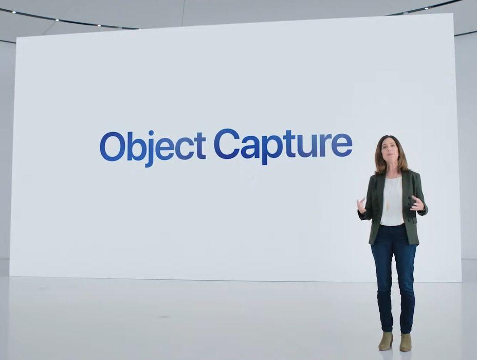 Apple Announces Object Capture Feature