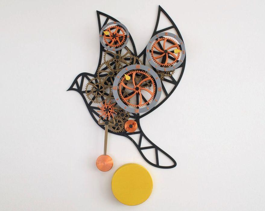 Design of the Week: Mechanical Wall Clock