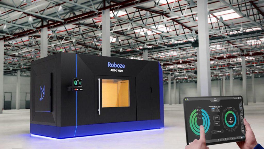 Roboze Unveils Massive High-Temperature 3D Printer